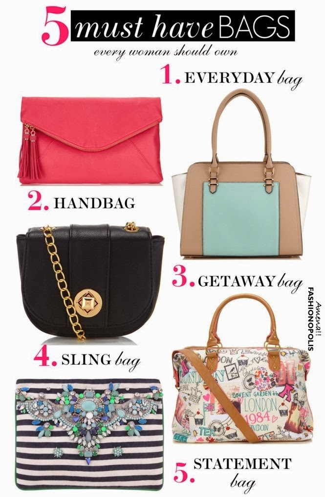 Accessorize It Right 5 Must Have Bags Every Woman Should Own