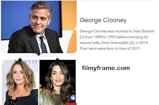 George Clooney Married twice