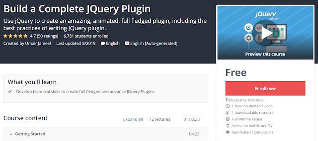 Build a Complete JQuery Plugin