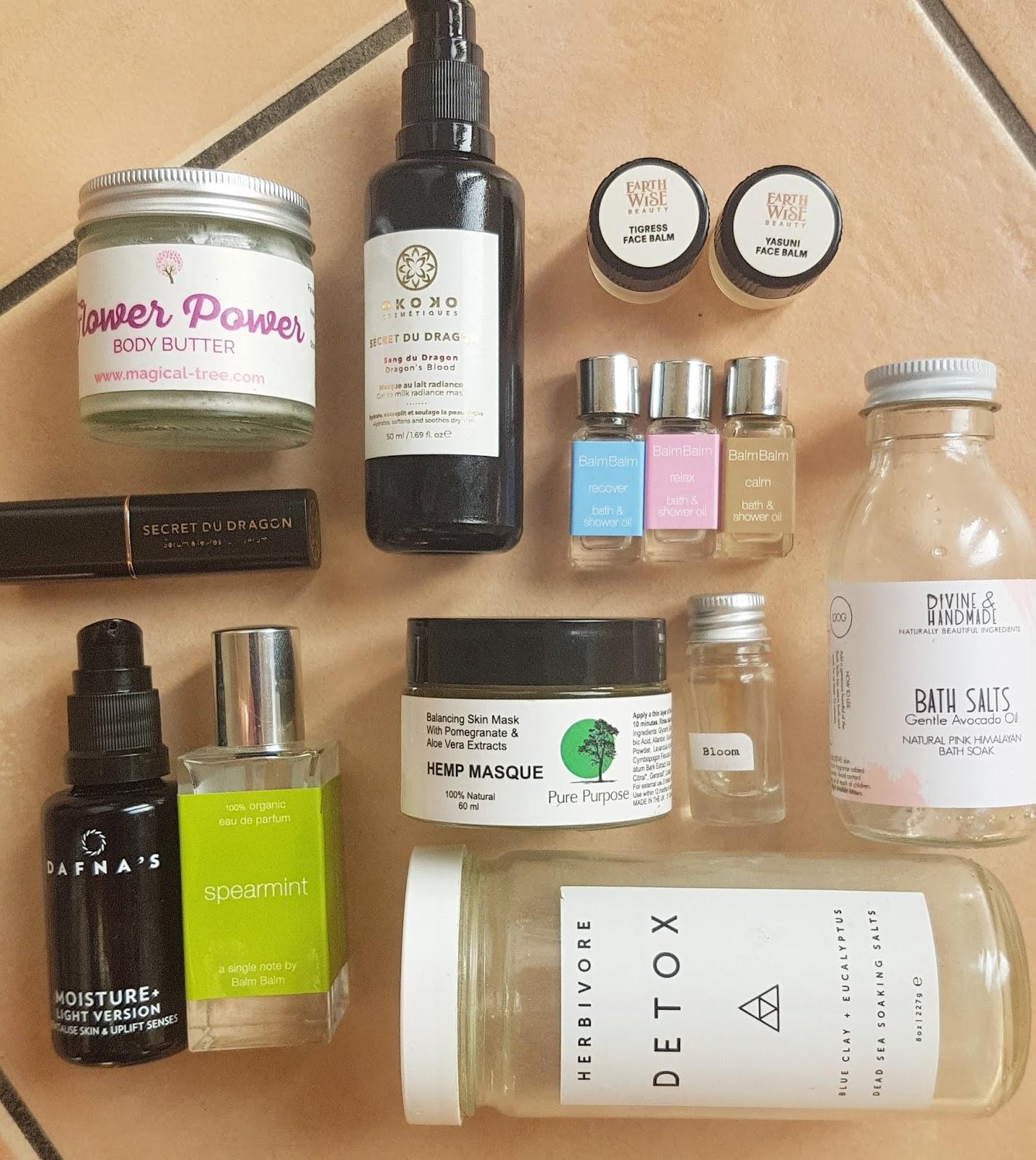 September 2019 Green Beauty Empties