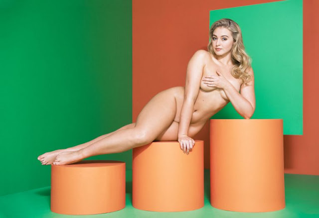 Iskra Lawrence appeared naked in Women's Health Magazine (September 2016). 56qm0r4l6e.jpg