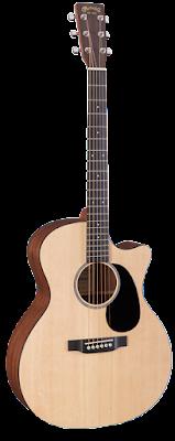 blond guitar