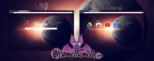 Lone Space Google Theme  | Chrome Web Store