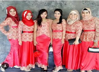 Model Baju Batik Untuk Pesta Pernikahan Couple