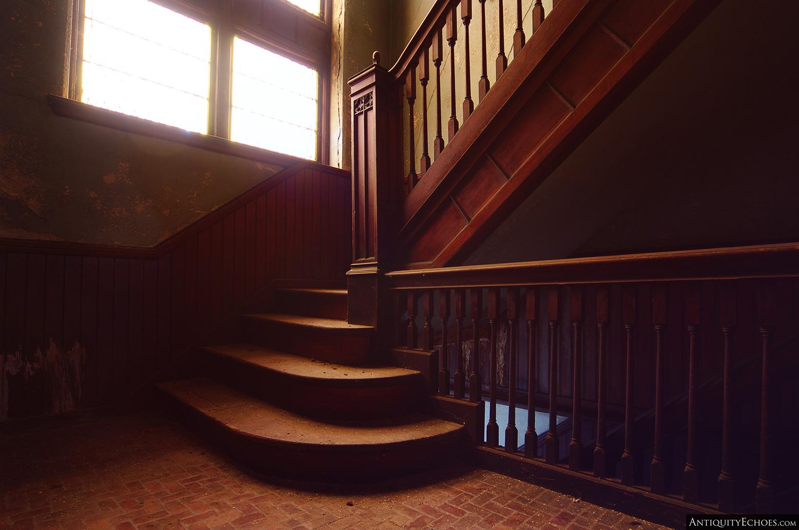 Third Presbyterian - Beautiful Wooden Staircase