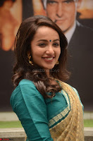 Tejaswi Madivada looks super cute in Saree at V care fund raising event COLORS ~  Exclusive 068.JPG