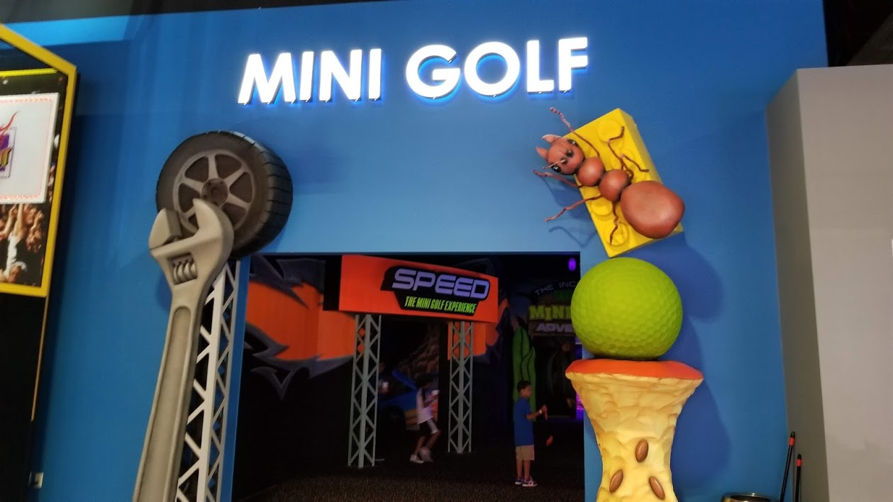 mini golf, allegiant nonstop