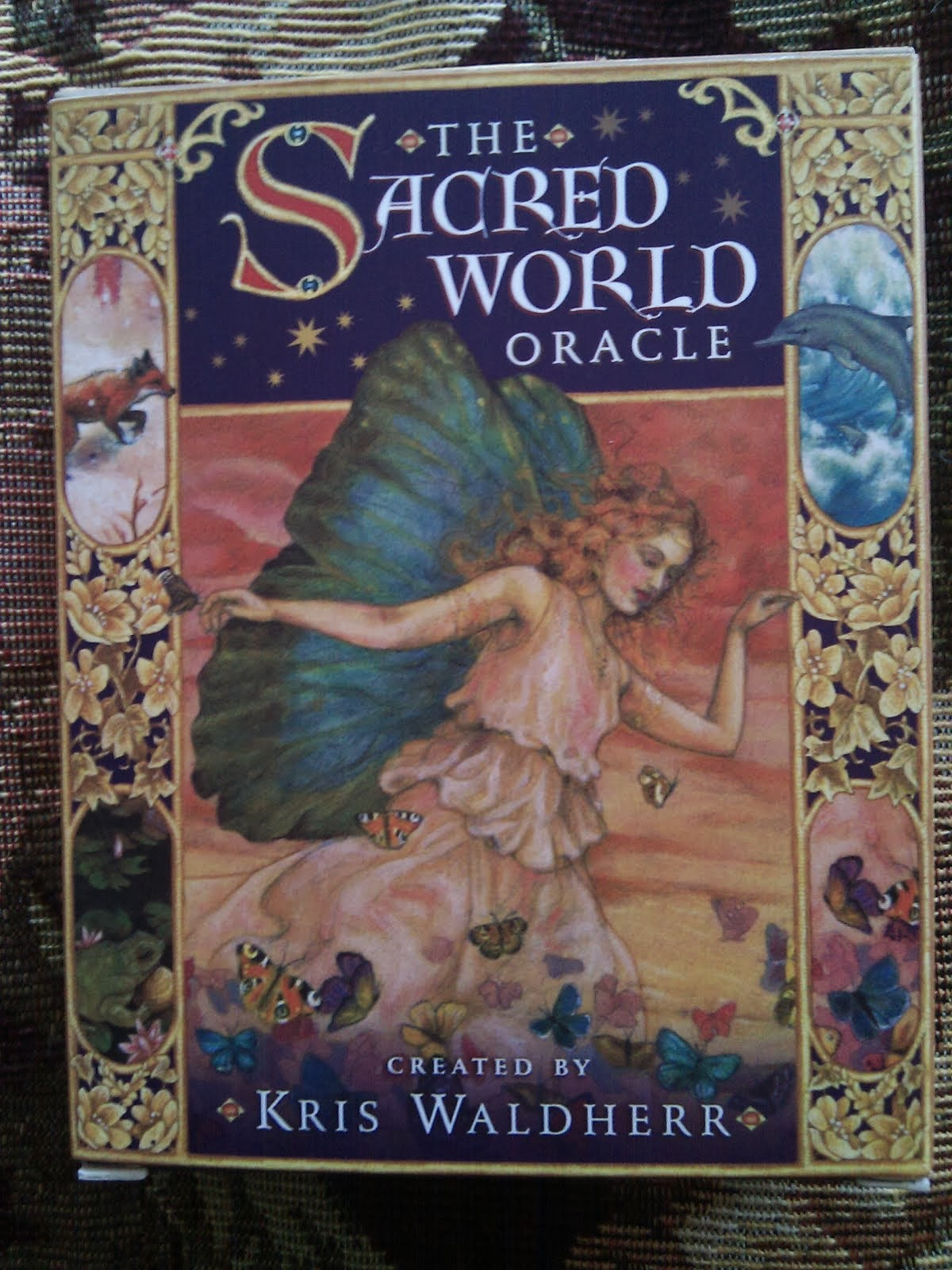 The Sacred World Oracle Deck: Reading by Kayla Garnet Rose, Ph D