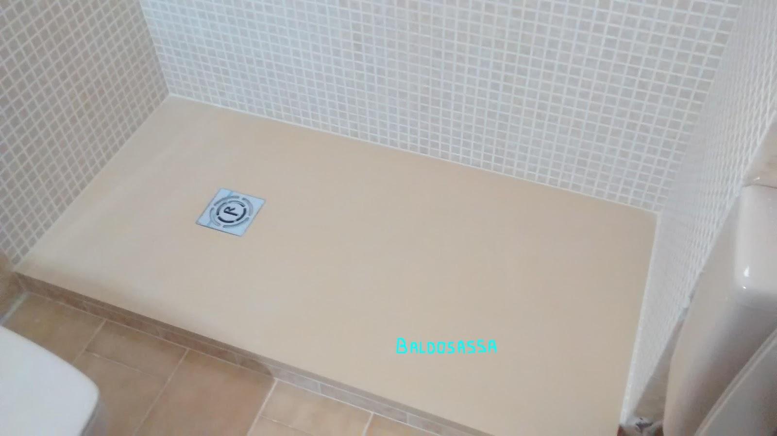 Baldosassa opiniones y fotos de platos de ducha carga - Como poner gresite ...