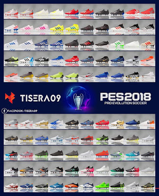PES 2018 Bootpack AIO v10 by Tisera09