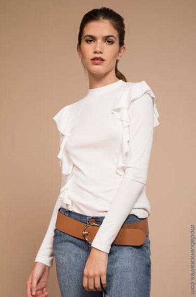 Blusas de moda 2018. Moda invierno 2018.