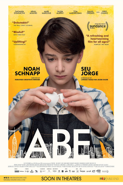 Movie poster of Abe