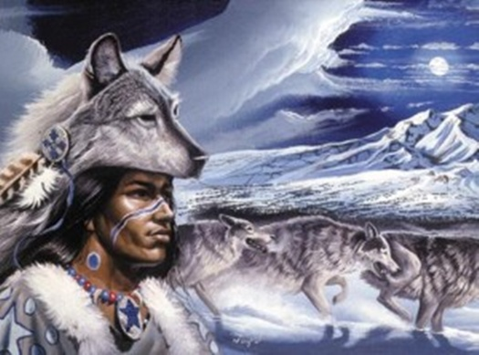 Native American Wolf Spirit