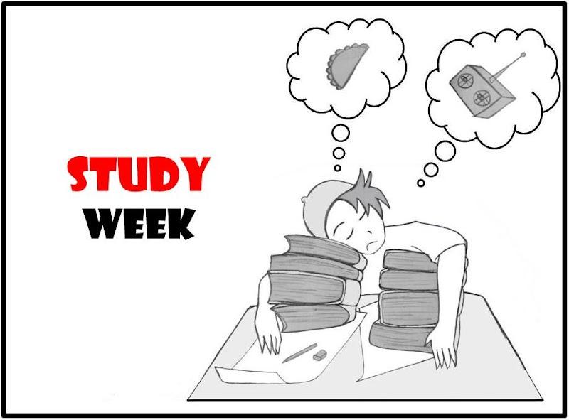 Study Week = Final Exam!