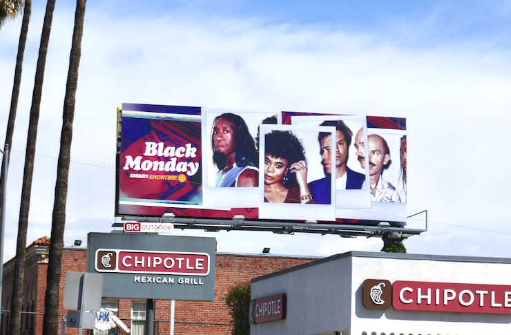 Black Monday season 2 billboard