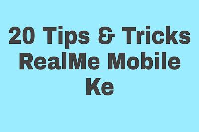 19+1 टिप्स आंड ट्रिक्स Realme मोबाइल के हिन्दी मे
