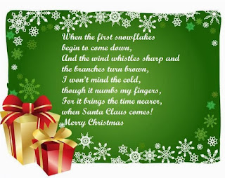humorous christmas poems