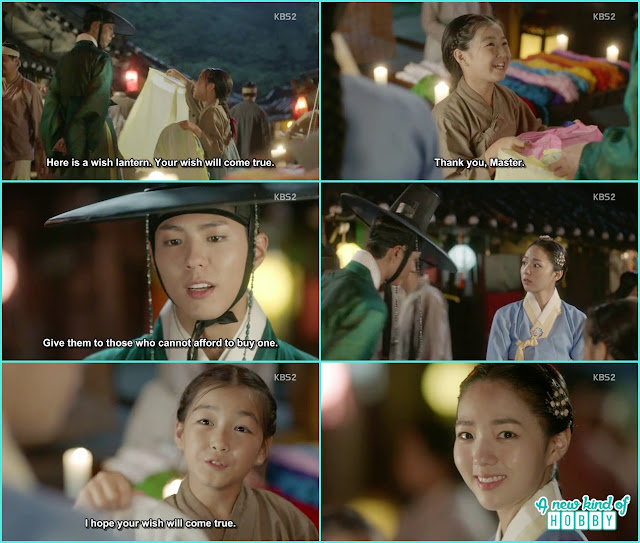 cron prince meet with the second lead female in th elantern festival - Love in The Moonlight - Episode 5 Review