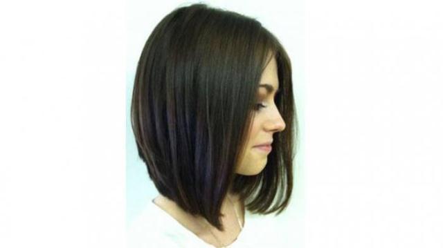 Model rambut wanita long bob