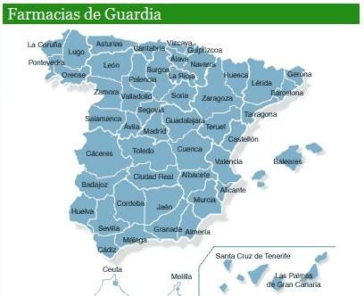 Farmacias de Guardia España