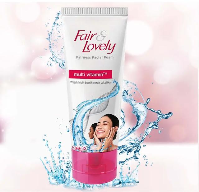 Fair Lovely Facial Foam Membersihkan Wajah