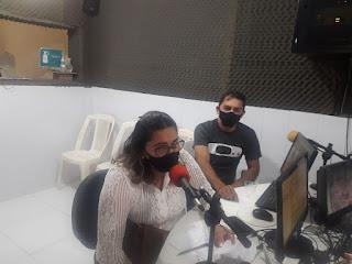 Em entrevista Rosane Emídio diz que o prefeito de Guarabira não quer aproximação do vice-prefeito com a secretaria de saúde e proíbe sua entrada na mesma