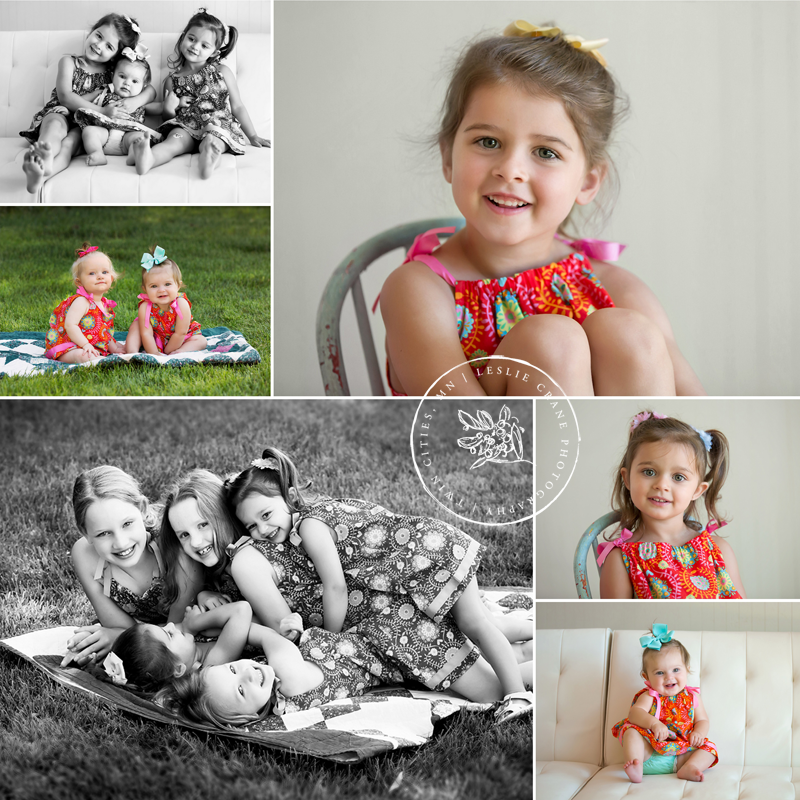 Leslie Crane Photography: Lot of cute cousins {Family photography