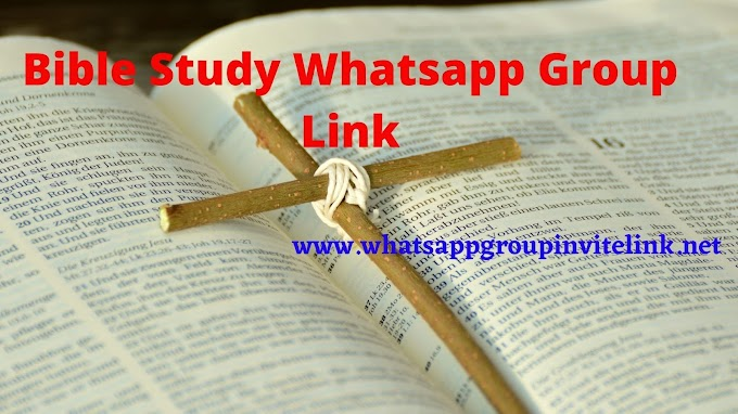 Join Bible Study Whatsapp Group Link