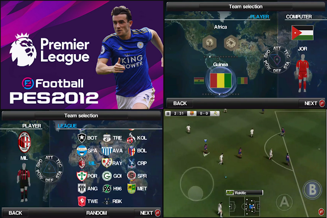 E-Football PES 2012 Mod 2020 Latest Update