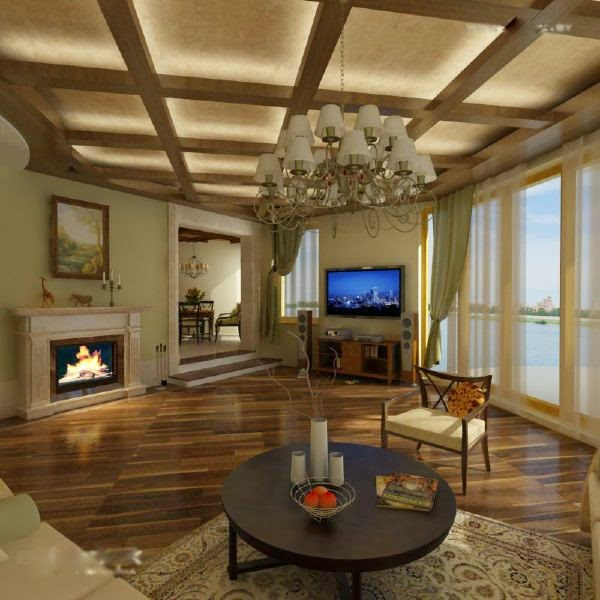 37 Fascinating Luxury Living Rooms Designs: 27 Fancy Modern Ceiling Designs And Ideas For Luxury Rooms
