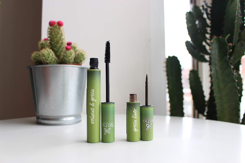 photo pour article boho green makeup