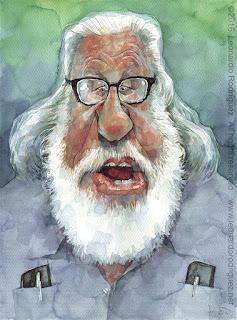 hombre con barba blanca y gafas