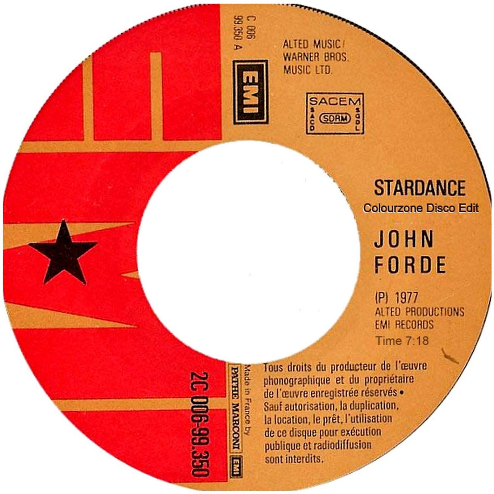 John Forde Star Dance