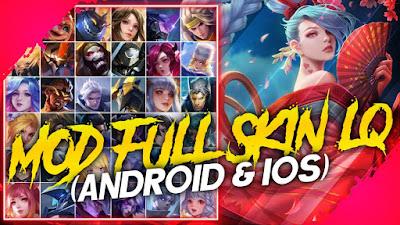 Mod Full Skin Liên Quân Mới Nhất Mùa 19 | AnLQ Mod