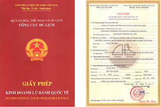 giấy phép lữ hành