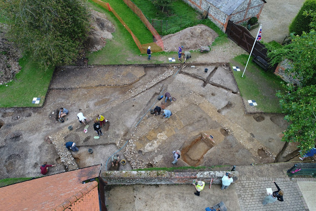 Third Roman temple in Silchester may have been part of Nero's vanity project