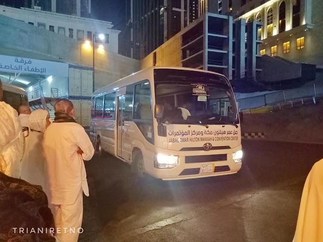 shuttle bus hotel hilton mekkah