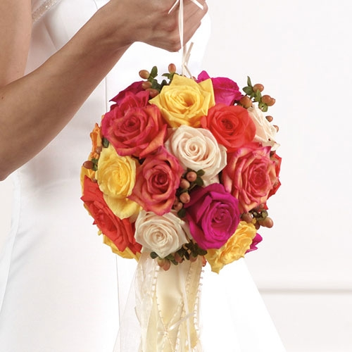 Types Of Wedding Bouquets: The Language Of Flowers: Types Of Bridal Bouquets: Posy
