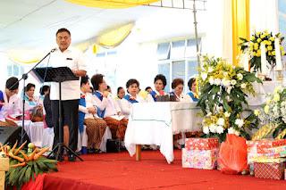 Gubernur Sulut Hadiri Hut WKRI ke 94 di Tondano