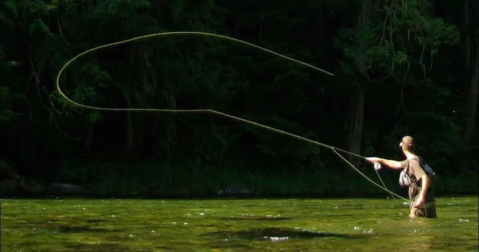 Fly Fishing method, technique