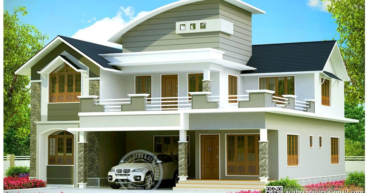 Beautiful Contemporary House Design Kerala Kerala House Plans Designs Floor Plans And Elevation