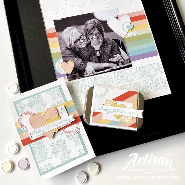 Stampin' Up! - Posted for You - Artisan Design Team - Caroline - 2020