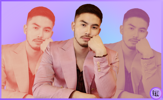 Tony Labrusca in Pink Suit