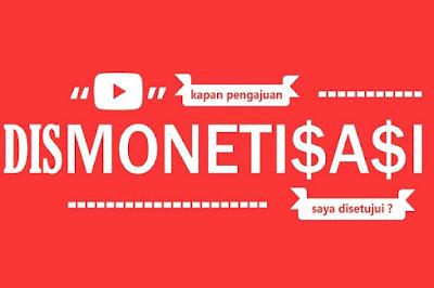 channel dismonetisasi bisa monetisasi kembali