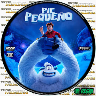 PIE PEQUEÑO - SMALL FOOT 2018 [COVER DVD] GALLETA