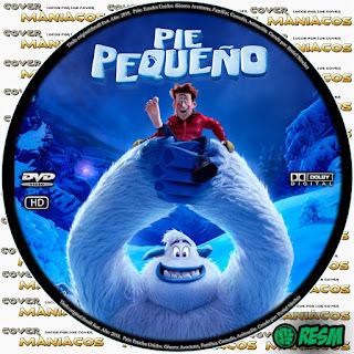PIE PEQUEÑO - SMALL FOOT 2018 [COVER DVD] GALLETA