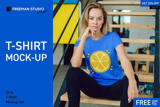 Creativemarket T-Shirt Mock-Up Set 3922468