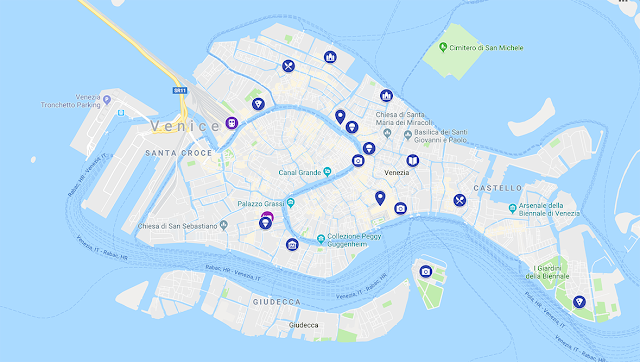 Google Map for Venice