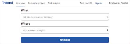 Situs lowongan kerja indeed