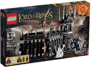 Lego The Lord Of The Rings Battle At The Black Gate(Multicolor) Game Flat 55% Off for Rs.3374 (Lowest Price Offer)For Axis Bank Cards Rs.3037